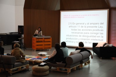 Presentation in Asturias of the Women' s association in contamporary visual arts