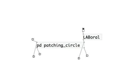 LABoral patching circle