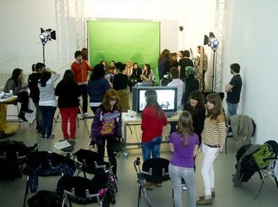TV-LAB. Experimental television lab. Workshop