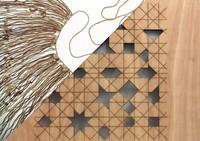 Lorenzo Sandoval: Shadow Writing (Algorithm/Quipu)