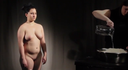 """Cuerpo"" (Body) of María Castellanos, at Universo vídeo. Geo-políticas"