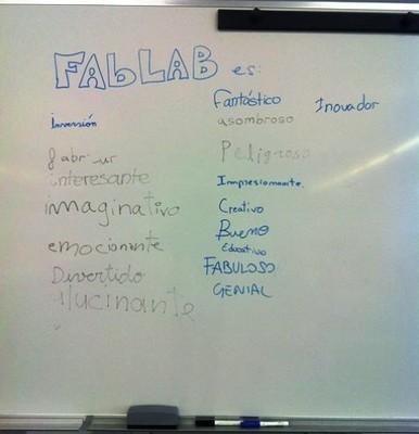 School program at fabLAB Asturias. FabLearn 2013