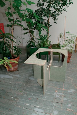 Four Seater Empty Chairs, 2004