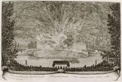 """La Fête """"Les plaisirs de l'Ile Enchantée"""" donnée par Louis XIV à Versailles, 1664"""