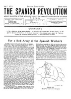 The Spanish Revolution (2003)