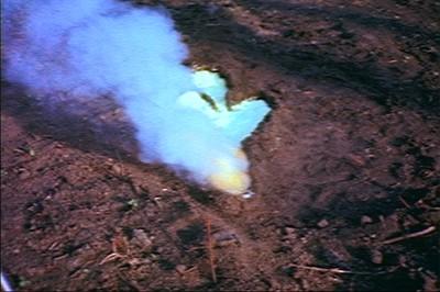 Untitled (Gunpowder Work # 2), 1980