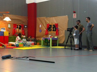 """The showing of a video made by children closes the Urban Summer Camp """"We Play, We Create"""""""