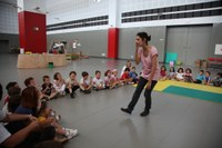 An exhibition and the screening of a film made by children brings to a close the urban summer camp 'Jugamos, Creamos'