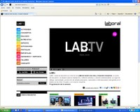 LABoral launches its own internet television channel