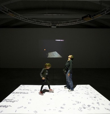 Paulina Wallenberg-Olsson will activate 'Writing Copora', the installation by Gary Hill, on Saturday