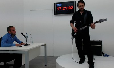 German Thom Kubli sets the solo guitar world record at more than 17 hours