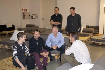 Fasenuova, Óscar Mulero & Fium and Pablo Und Destruktion, in artistic residency at LABoral