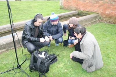 20 secondary school students from the Laboral University of Gijon will take part in the sound narrative creation workshop organised by the Centro de Arte