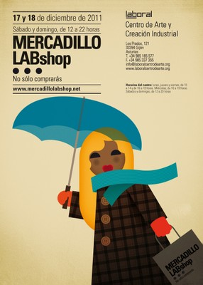 Mercadillo LABshop diciembre 2011