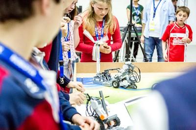 Minicampamento de robótica. Abril 2017