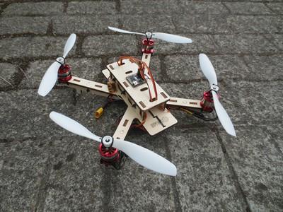 Construcción de multicópteros con técnicas de fabricación digital. 2ª Edición