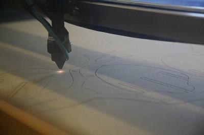 Taller de uso de la cortadora láser