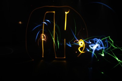Taller light painting
