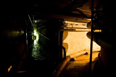 Visita guiada Topo, 2011 (instalación en los túneles de LABoral)