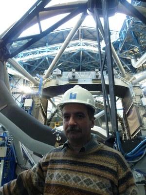 F Comeron Telescopio