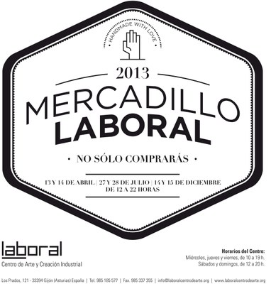 Mercadillo LABoral: Diseño + Amor