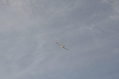 UAV en vuelo