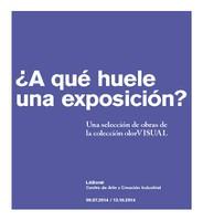 Catálogo ¿A qué huele una exposición?