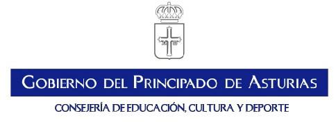 Logo Gobierno del Principado.Educacion, cultura y deporte