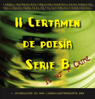 II Certamen de Poesía Serie B