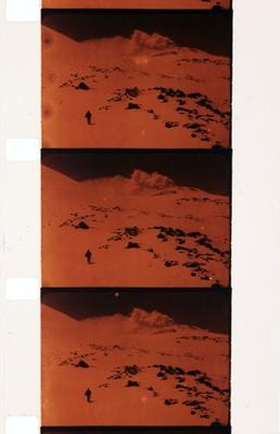 Fragment [Climbing Mount Etna], c. 1920
