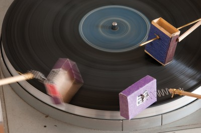 Mechanical Piano, 2009; Sound Machines, 2009; Turntables, 2011