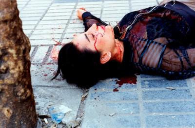 Sin título (Sangre en la calle), 1992