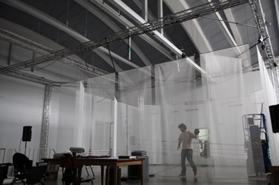 "Aniara Rodado presenta el próximo sábado, 17, su pieza audiovisual interactiva ""Fotograma"""