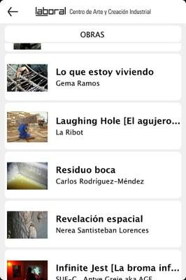 LABoral lanza una aplicación para móviles y tabletas que permite visitar virtualmente sus exposiciones