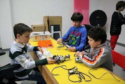 LABoral acogerá un nuevo campamento de robótica infantil esta Semana Santa