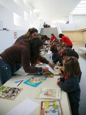 260 escolares asturianos conmemoran el miércoles, 27, el Día del Libro en LABoral