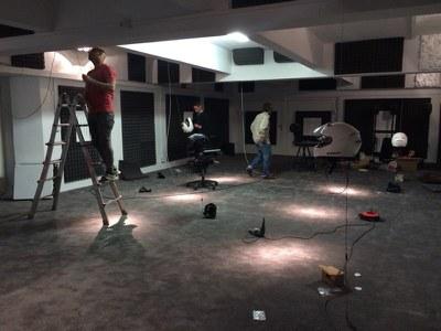 El dramaturgo Rodrigo García presenta la primera instalación producida por el LABoratorio de Sonido