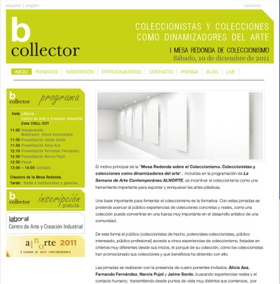 Jornada sobre coleccionismo en LABoral