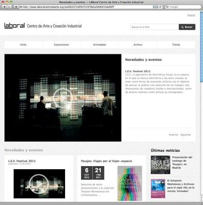 LABoral emprende una nueva estrategia online