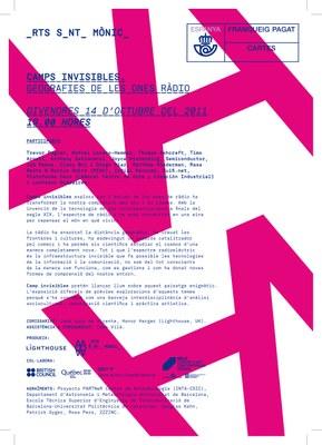 La exposición 'Campos invisibles' de Arts Santa Mònica de Barcelona muestra 'Ground Station', obra producida por LABoral