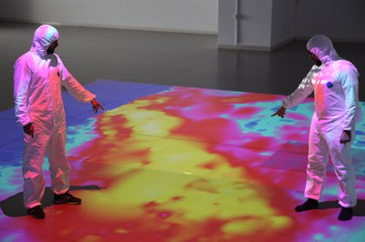 LABoral inaugura LA ZONA, una instalación interactiva sobre el accidente nuclear de Fukushima