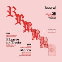 """LABoral presenta """"RRRRR…Resultados de Residencias"""", una tarde de actividades donde se mostrarán los trabajos realizados por artistas de la I Convocatoria de Residencias Artísticas 2021."""