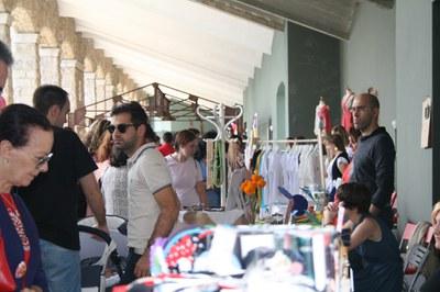 7.665 personas participaron durante el fin de semana en el mercadillo/romería de diseño de LABoral