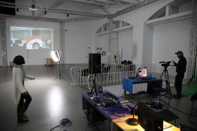 Pedro Soler expone la actividad de LABoral en el área de Producción en 'Plataformes 2011'