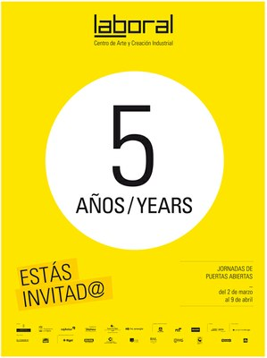 Programa del Quinto Aniversario de LABoral