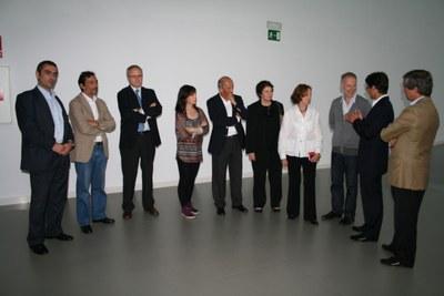 Los responsables de las fundaciones de EdP visitan LABoral