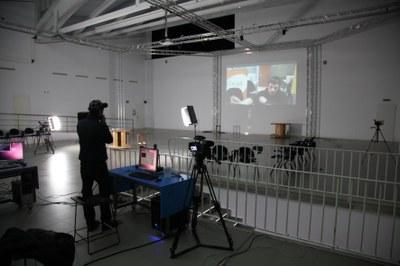 LABoral acoge 'INTACT', un taller de creación en tiempo real a través de la Red con telepresencia